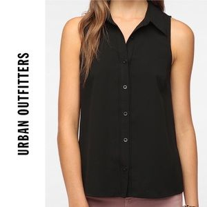 🆕 NWOT Urban Outfitters C&C Button Down Blouse